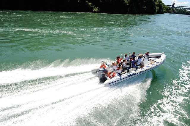 Boat ride along the Menai Straits